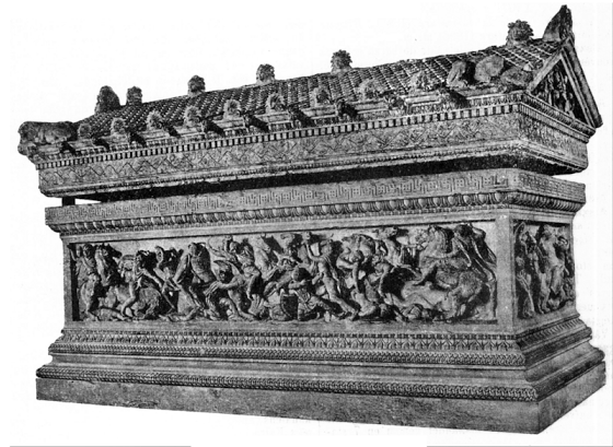 Alexander sarkofagen Η Σαρκοφάγος του Μεγάλου Αλεξάνδρου