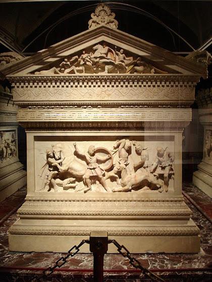 Istanbul Museo archeol Η Σαρκοφάγος του Μεγάλου Αλεξάνδρου